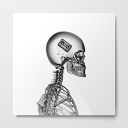 Internal Playlist Metal Print