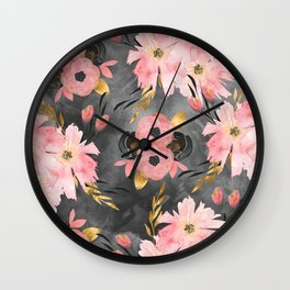 Night Meadow Wall Clock