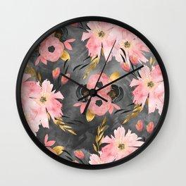 Night Meadow Wall Clock