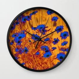 Luminous Daisies Wall Clock