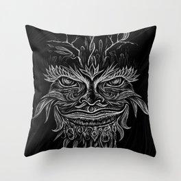 Forest Elemental Throw Pillow