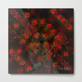 The 24 Roses of St Therese Metal Print