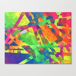 Taped Up Canvas Print