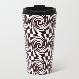 Chessboard melts Travel Mug