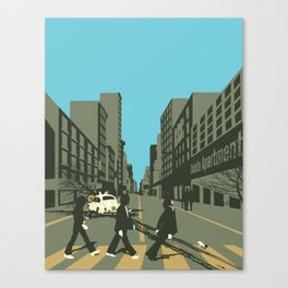 Abbey Road Reloaded Canvas Print