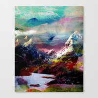 landscape Canvas Prints featuring Untitled 20100816g (Landscape) by tchmo