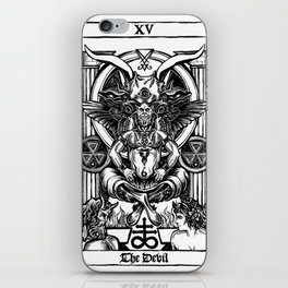 The Devil Tarot iPhone Skin