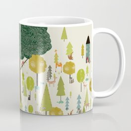 little nature wood Coffee Mug