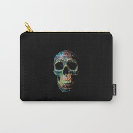 Sugar Skull Color Carry-All Pouch