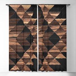 Urban Tribal Pattern No.11 - Aztec - Wood Blackout Curtain