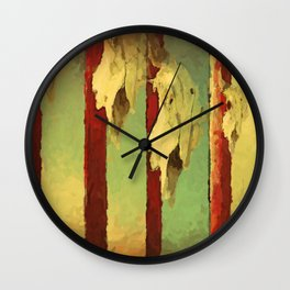And He Watches Us Wall Clock