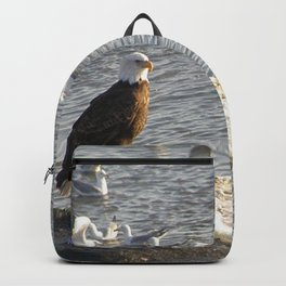 Eagle on Ice Backpack