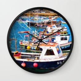St Ives Harbour Wall Clock