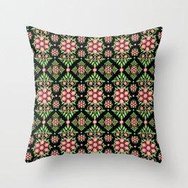 Garden Chintz Throw Pillow