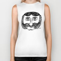 larry stylinson Biker Tanks featuring Larry by Addison Karl