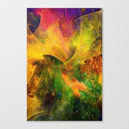 Blanket of Stars Canvas Print