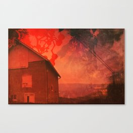 The Barn on Breakers Hill Canvas Print