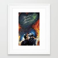 ram Framed Art Prints featuring RAM by KLANG