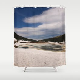 Rocky Mountain N P June 2017 Shower Curtain