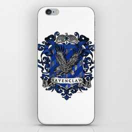Ravenclaw Color Crest iPhone Skin