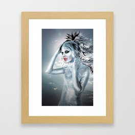SHE ALIEN Framed Art Print