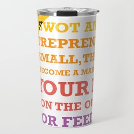 Lab No. 4 - Business Leadership Lessons From Steve Jobs Quotes Poster Travel Mug
