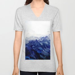 Blue Mountain 2 Unisex V-Neck