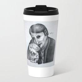 Mads Mikkelsen as Hannibal Portrait Travel Mug