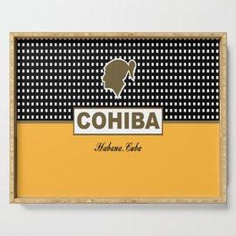 Cohiba habana cuba Serving Tray