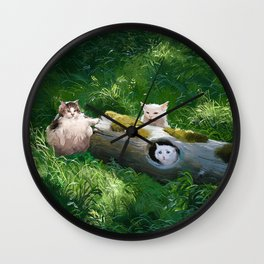 Their lög Wall Clock