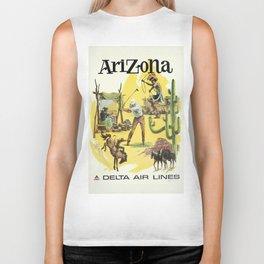 Vintage poster - Arizona Biker Tank