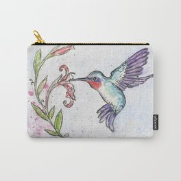 Winsome Hummingbird Carry-All Pouch