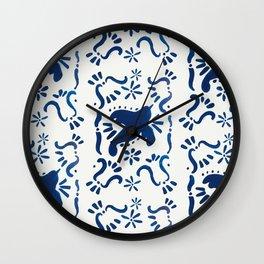 Bluebird of Happiness Wall Clock