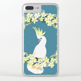 Sulphur Crested Cockatoo Clear iPhone Case