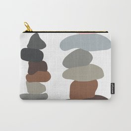Colorful Stones Balancing Carry-All Pouch