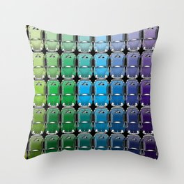 VW spectrum Throw Pillow