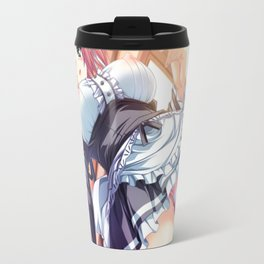 Japanese Hentai Maid, Sexy Babe, Large Breasts, Tight Panties Travel Mug