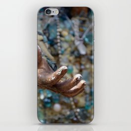 Weathered Hand iPhone Skin