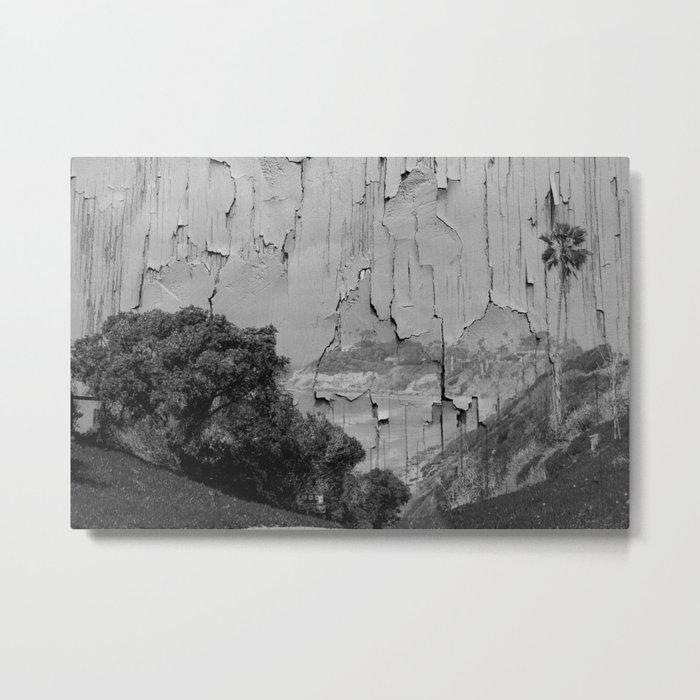 Peeling Beach Landscape Metal Print
