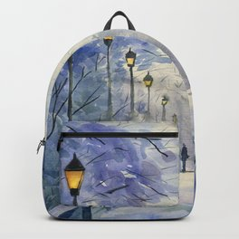 Winter evening Backpack
