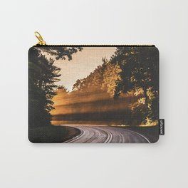 Bright Light Along the Road in Wisconsin Carry-All Pouch