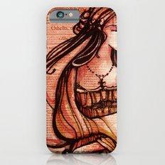 Desdemona - Othello - Shakespeare Folio Illustration  Slim Case iPhone 6s