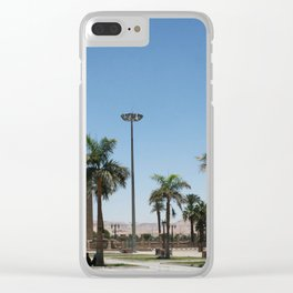 Temple of Luxor, no. 21 Clear iPhone Case