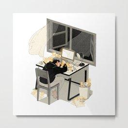 Sleep 1 (series) Metal Print