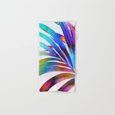 Multicolor Palm Leaf Hand & Bath Towel