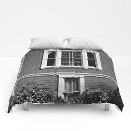 1051 HARRISON STREET, FRONT WINDOW Comforters