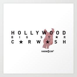 Hollywood Carwash Art Print