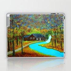 Autumn landscape 6 Laptop & iPad Skin