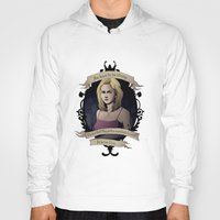 buffy Hoodies featuring Buffy - Buffy the Vampire Slayer by muin+staers