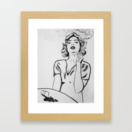 Hermine Framed Art Print